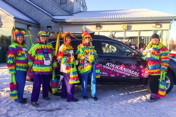 Ski for Women & Kikkan's Subaru - 2014