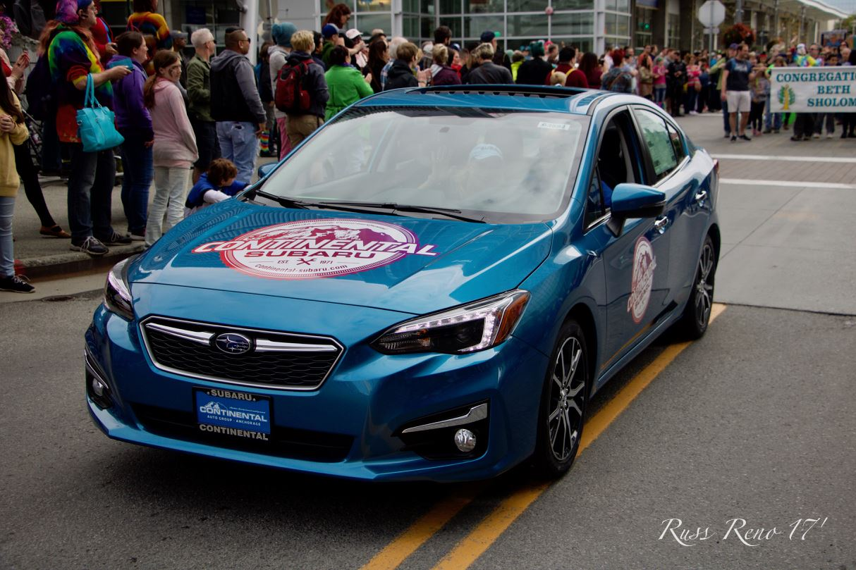 Continental Subaru at Pride Parade - 2017