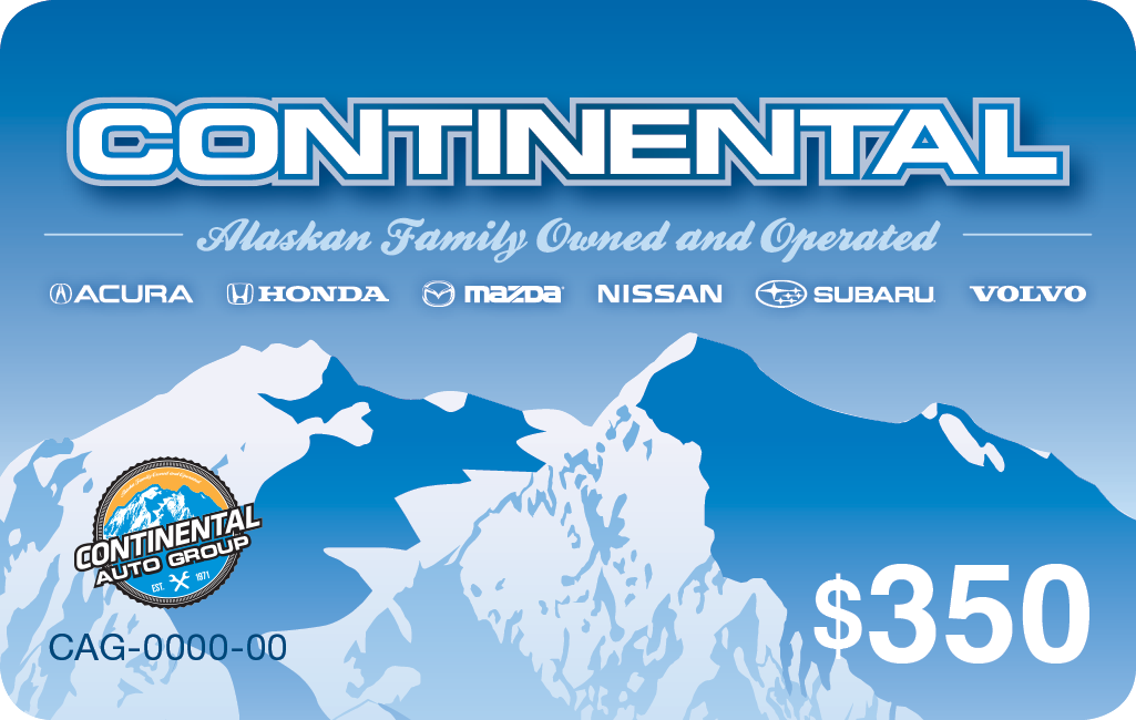 Continental Auto Group gift card