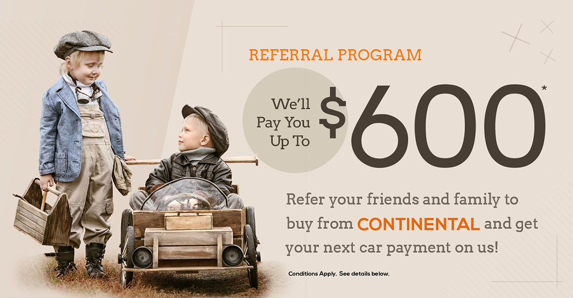Continental Referral Program