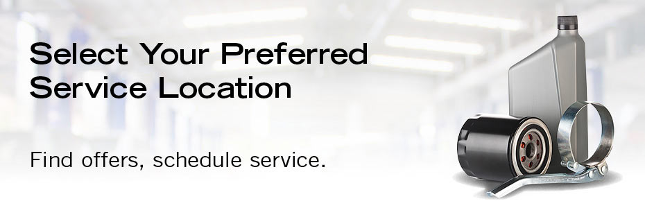 Select Your Preferred Service Location