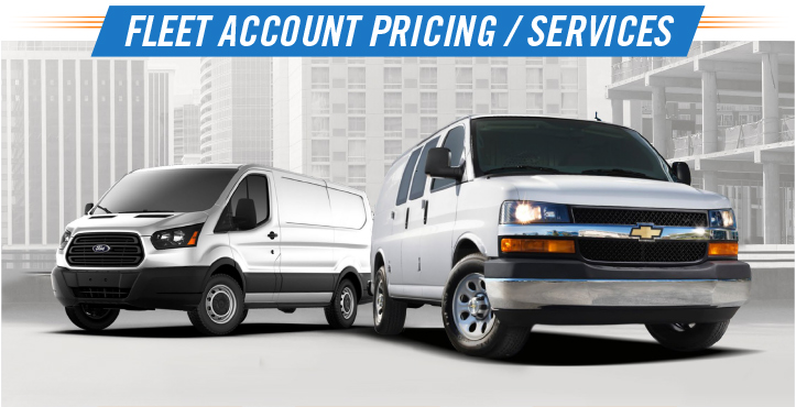 Fleet Account Pricing and Services