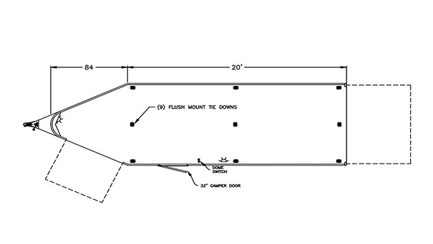 snowmobile-trailer-model-1648-20ft  Ft Enclosed Trailer Wiring Diagram For on