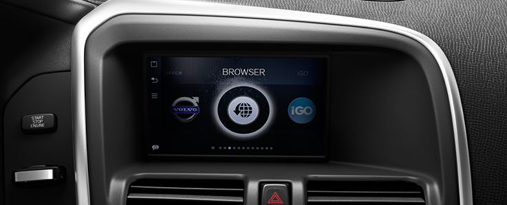 "Does your Volvo have a 7"" screen?"