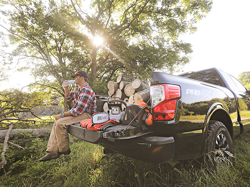 Get it done with a Nissan Titan and enter to win a Polaris ATV.