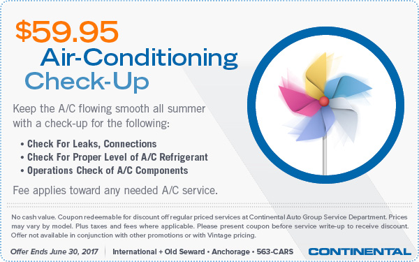 $59.95 Air-Conditioning Check-up