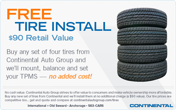 Free Tire Install